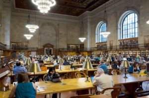 New York Public Library which has a vault that is one of the top underground attractions in NYC