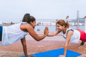 Outdoor Fitness Classes in NYC